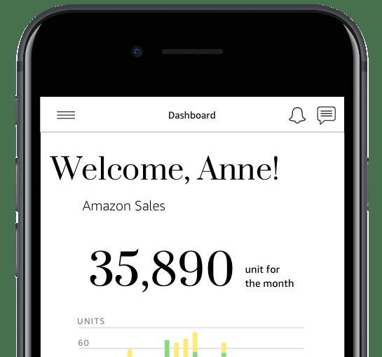 Mobile view of APub.com portal